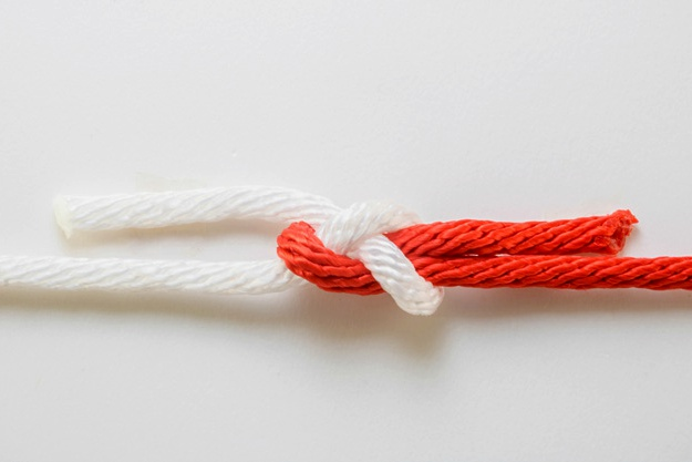Sheet Bend   Basic Knots Every Man Should Know