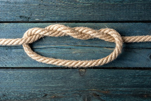 Double Overhand Knot   Basic Knots Every Man Should Know
