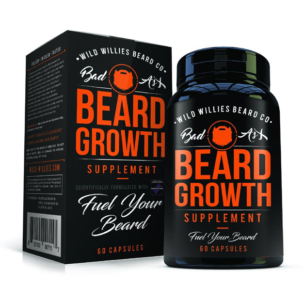 Wild Willies Beard Growth Supplement | Use These Beard Growth Supplements For A Longer, Thicker Mane