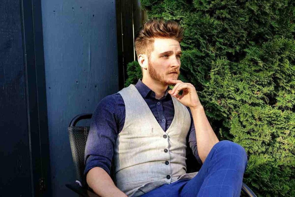 serious man thinking | Short Beard Styles For All Face Shapes