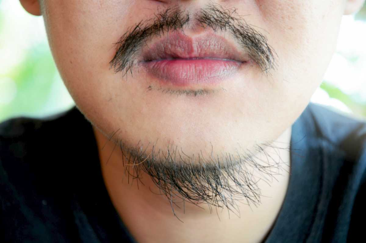 man with moustache and beard  | Goatee Styles To Up Your Game | goatee beard